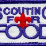 Local Scouts Collecting Food For The Care Center Nov 10th