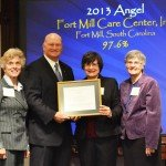 Care Center Receives Angels Award From SC Secretary Of State
